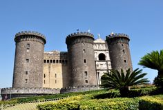 Castle Nuovo, Naples Royalty Free Stock Photo