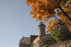 The castle in Nuremberg Stock Images
