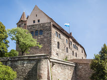 Castle of Nuremberg Bavaria Germany Stock Images