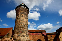 Castle in Nuremberg germany 2011 Stock Photos