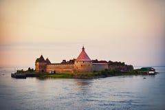 Castle Nut in Schlisselburg, Saint-Petersburg Royalty Free Stock Image