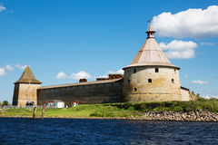 Castle Nut in Schlisselburg, Saint-Petersburg, Russia Stock Photography
