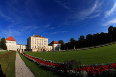 Castle of Nymphenburg Royalty Free Stock Image