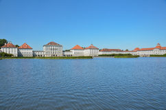 Castle of Nymphenburg Stock Photos