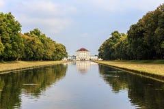 Castle Nymphenburg στοκ εικόνα