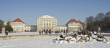 Castle Nymphenburg of Munich in Bavaria Royalty Free Stock Photography