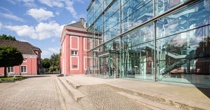 Castle oberhausen germany Royalty Free Stock Images