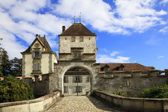Castle of Oberhofen Royalty Free Stock Image