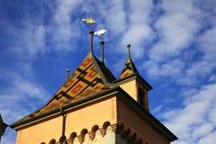 Castle of Oberhofen Stock Photos