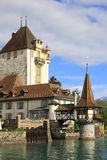 Castle of Oberhofen Royalty Free Stock Photos