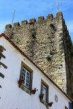Castle of Obidos, Portugal Stock Photography