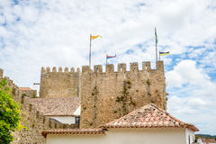 Castle of Obidos Royalty Free Stock Photo