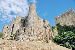 Castle in Obidos Royalty Free Stock Images