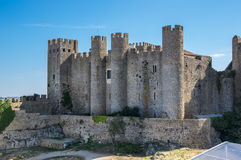 Castle of Obidos Stock Image