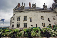 Castle od Amboise Royalty Free Stock Photos