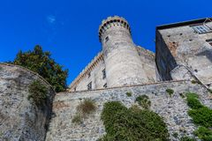 Castle Odescalchi, Bracciano lake, Italy Stock Images
