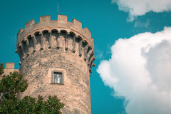 Castle Odescalchi Tower Royalty Free Stock Photo