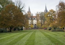 Castle in Oehringen Royalty Free Stock Photography