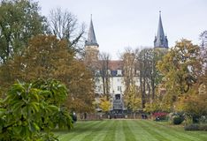 Castle in Oehringen Royalty Free Stock Photos