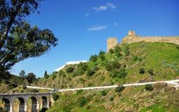 Castle Of Mertola, Portugal. Stock Image