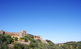 Castle Of Noudar Royalty Free Stock Photography