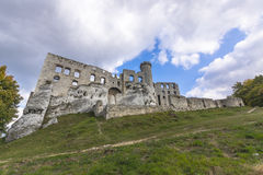 Castle in Ogrodzieniec Royalty Free Stock Photos