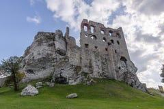 Castle in Ogrodzieniec Stock Photo