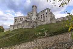 Castle in Ogrodzieniec Stock Image