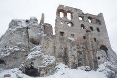 Castle in Ogrodzieniec Poland Stock Photography