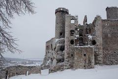 Castle in Ogrodzieniec Poland Stock Photos