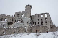 Castle in Ogrodzieniec Poland Royalty Free Stock Photography