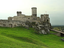 Castle in Ogrodzieniec, Poland Stock Images