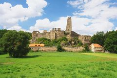 Castle Okor, Czech Republic Royalty Free Stock Image