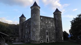 Castle. Old castle. France Royalty Free Stock Images