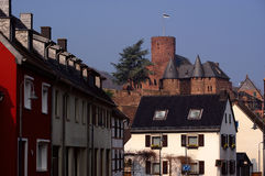 Castle in old German town Royalty Free Stock Photography