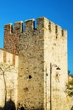 Castle. Old castle in Istanbul Turkey Stock Images