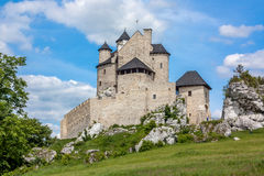 Castle. Old castle in Poland, Bobolice Stock Images