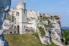 Castle. Old castle in Poland, Podzamcze Stock Image