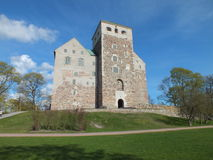 Castle. Old castle in west coast Finland Stock Photos
