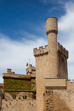 Castle of Olite Royalty Free Stock Photography