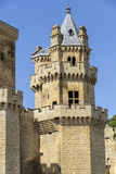 Castle Olite, Navarra, Ισπανία Στοκ Φωτογραφίες