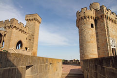 Castle Olite, State run hotel,Navarre,Spain Royalty Free Stock Images