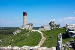 Castle Olsztyn Stock Image