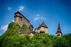 Castle of Orava stock photos