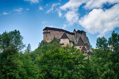 Castle of Orava stock images