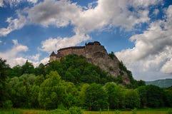 Castle of Orava stock photography