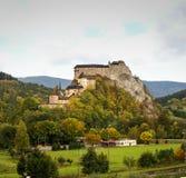 Castle in Orava, Slovakia Stock Photo