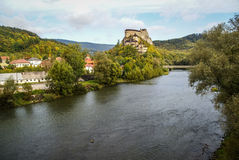 Castle in Orava, Slovakia Stock Photos