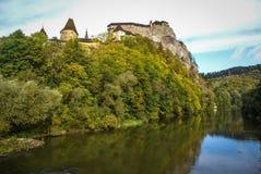 Castle in Orava, Slovakia Royalty Free Stock Image