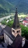 Castle, Orava, Slovakia. Medieval castle in Orava, Slovakia stock images